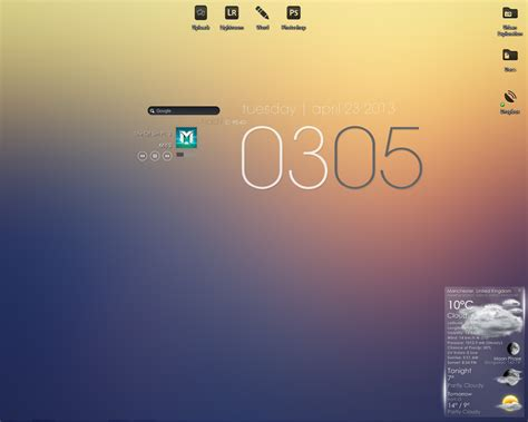 minimalist themes custom minimalist rainmeter theme by madmcclinton on