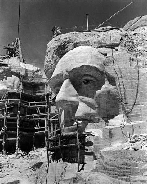 Construction du Mont Rushmore