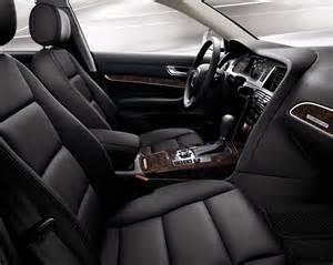 Audi A6 2010 Interior 2010 Audi A6 Black Interior W Brown Walnut