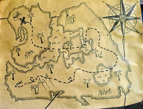 treasure maps artisan des arts antique treasure maps grades 4 8