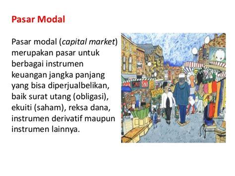 mengenal pasar keuangan