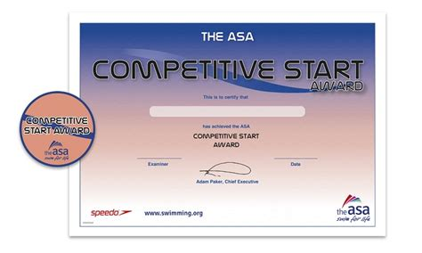 competitive start award