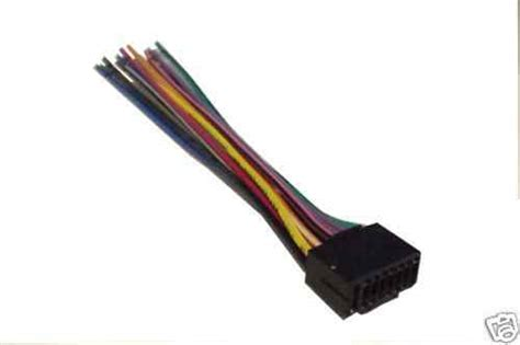 kenwood wiring harness car stereo  pin connector ebay