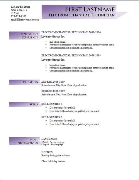 resume maker for freshers cv format resume format resumes resume layout exle