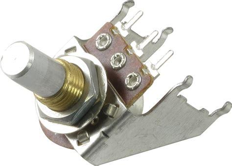 10kï resistor potentiometer audio solid shaft snap in 16mm ce distribution