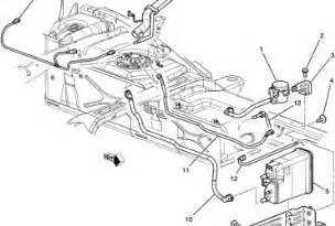 2004 Gmc Brake System Diagram 2001 Chevy Silverado Fuel Line Diagram Wedocable