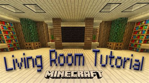 minecraft how to make an awesome living room design