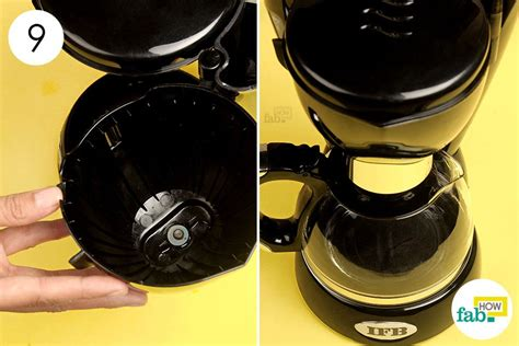How to Clean a Coffee Maker (with step by step real photos)   Fab How