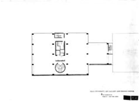 yale university art gallery floor plan louis i kahn collection architectural archives
