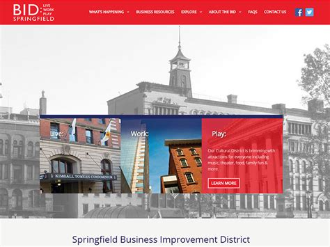 springfield business improvement district dif design