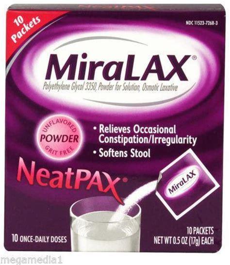 Miralax Detox by Miralax The Counter Medicine Ebay