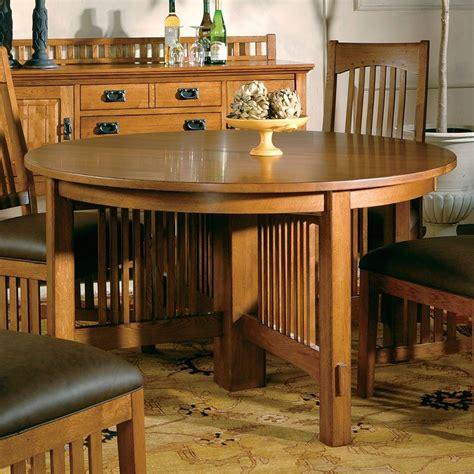 arts  crafts reunion dining table hekman furniture cart