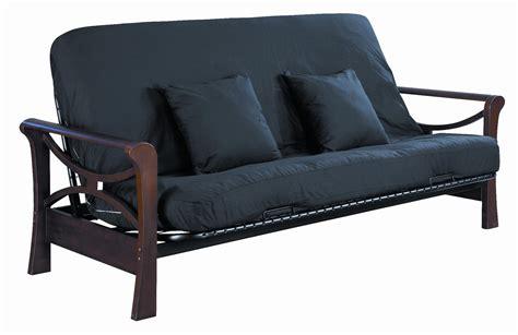 serta naples futon frame size