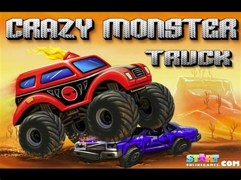 monster truck jam games play free online play crazy monster truck free online games youtube