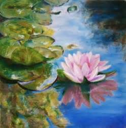 Lily Pads For Ponds Lily Pond Study Oil Pastel Oil Pastels By Mary