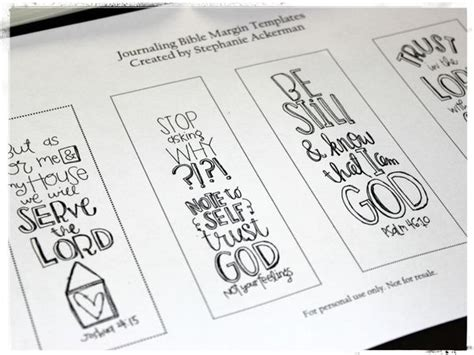 Homegrown Hospitality A Closer Look Journaling In The Margins Free Bible Journaling Templates