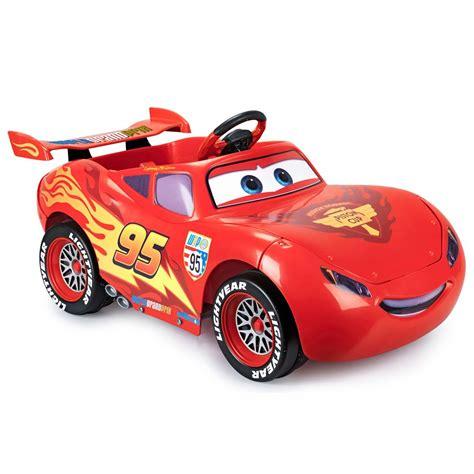 Kinder Auto Re by V 233 Hicule D Ext 233 Rieur Cars Flash Mcqueen 6v La Grande