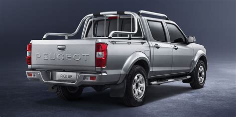 peugeot 4x4 range peugeot pick up rebadged chinese ute to go on sale in