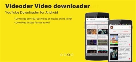 videoder hd downloader apk videoder downloader apk app gratis apk trek
