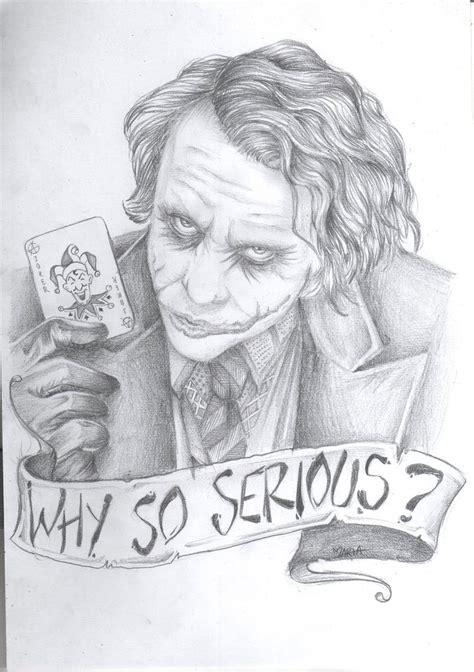 sketch of tattoo art joker why so serious by mariakillsxx on deviantart