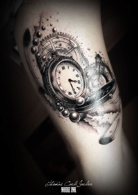 hustle tattoos clock clocks and search