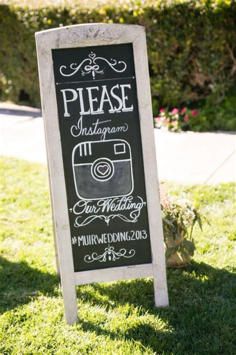 Wedding sign rustic Instagram chalkboard   THE special DAY