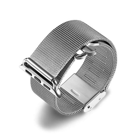 Apple Milanese Loop Army Style 42mm milanese stainless steel mesh band apple 42mm
