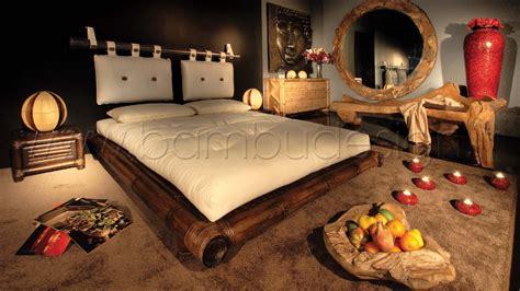 letti in bambu letto in bambu japanese noce scuro una piazza e mezza