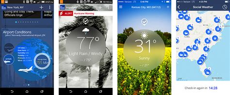 the weather channel mobile the weather channel launches new features in hours not