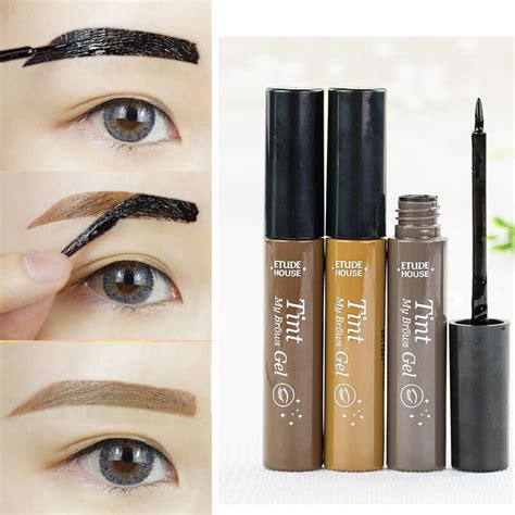 new professional waterproof eyebrow makeup kits eye tint
