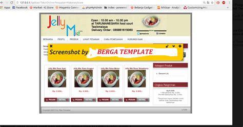 tutorial membuat web toko online dengan php cara mudah membuat web toko online penjualan makanan