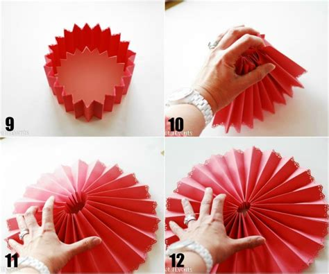 How To Make A Paper Fan That Works - how to make decorative paper medallions paper crush