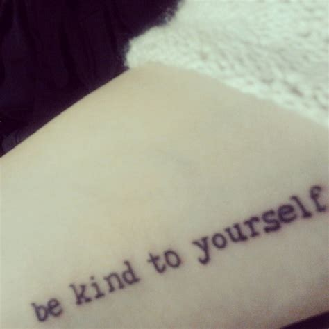 be yourself tattoo 17 best images about inspiration on