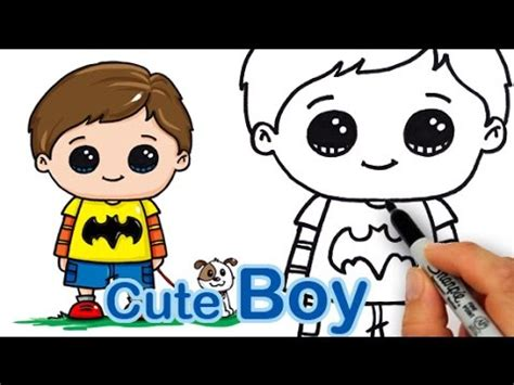 how todraw a 12 year old boy how draw a cute boy easy youtube
