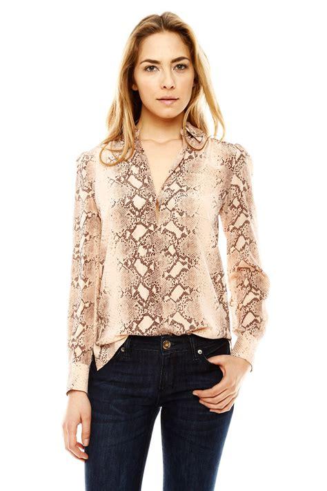 Bj 7026 Flower Colorful Blouse print blouse collar blouses