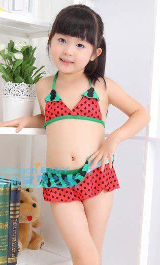 fruits little girl swimsuit sexy kid water melon bikini 2 6t fashion child girl fruit