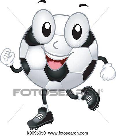 clipart calcio clipart palla calcio mascotte k9095050 cerca clipart