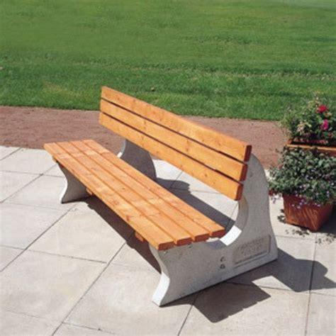 concrete and wood park benches park concrete wood bench nbb school shelters esi