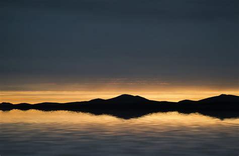 Vibrant Landscape Pictures Beautiful Landscape Seascape Vibrant Sunset Photograph By