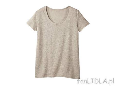 len lidl koszulka lniana moda odzież fanlidla pl