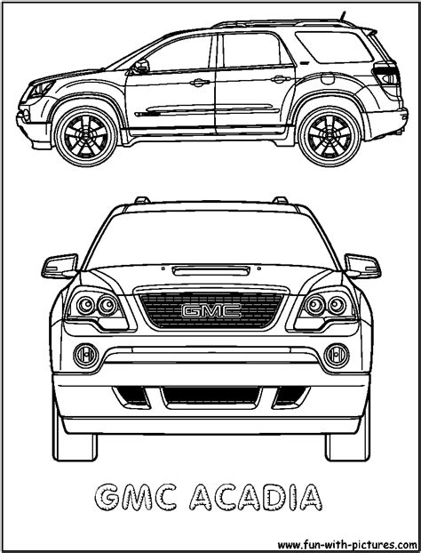 coloring pages gmc truck free gmc truck coloring pages