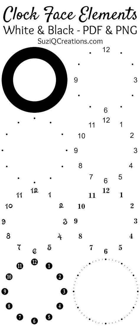 free printable square clock faces square clock face template www imgkid com the image