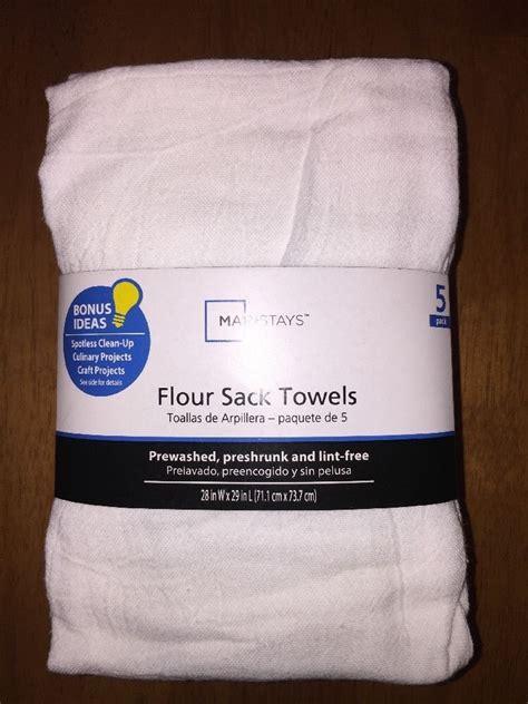 Flour Sack Kitchen Towels by 5 Pack White Flour Sack Kitchen Dish Towels Big