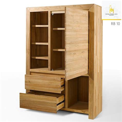 desain lemari sepatu minimalis harga lemari buku minimalis terbaru natural jati jepara