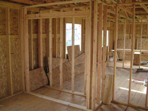 Awesome Build A Barn House #9: Framing-closet.jpg