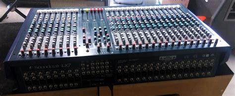 Mixer Lx7ii soundcraft lx7ii 24 image 1420969 audiofanzine
