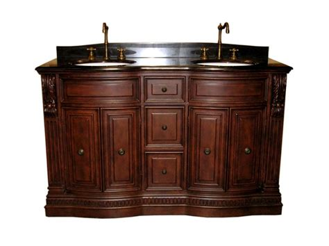 60 inch furniture style sink bathroom vanity with