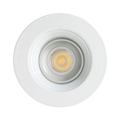led cabinet recessed white baffle white trim 12 volt