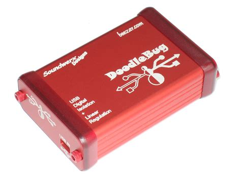 doodlebug usb isolator doodlebug enclosure beezar audio