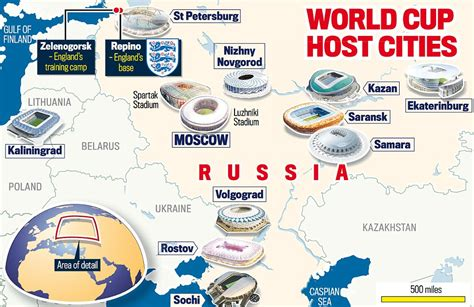 world cup venues russia s world cup 2018 stadium best and worst venues